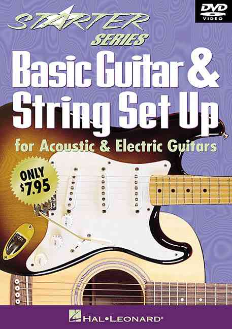 BASIC GUITAR & STRING SET UP BY KOLB,TOM (DVD)